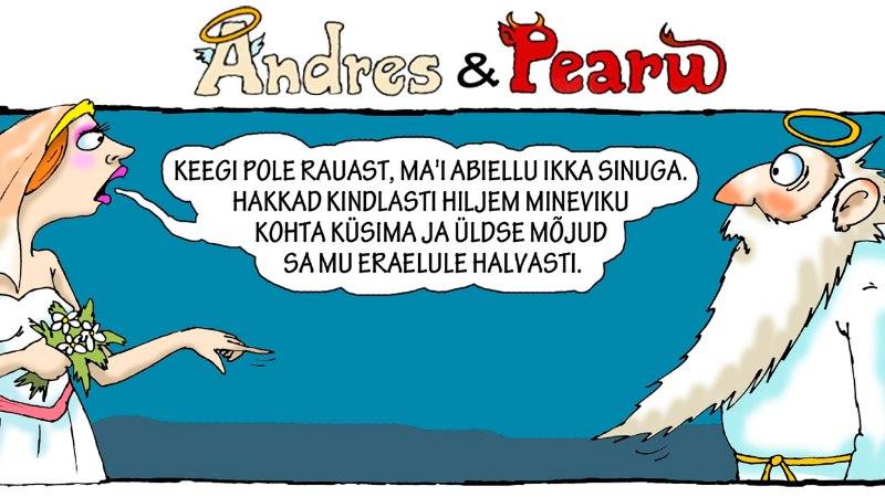Andres ja Pearu: poliitikute suurimad mured... andke armu!