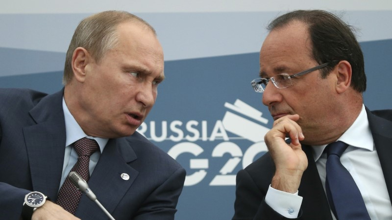 Prantslaste dilemma: mida teha Venemaa presidendi Putiniga?