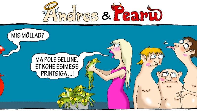 Andres ja Pearu: kevad on südames ja huuled pruntis