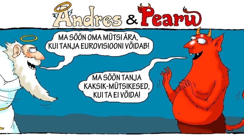 Andres ja Pearu: Tanja võidab, see on täiesti selge!