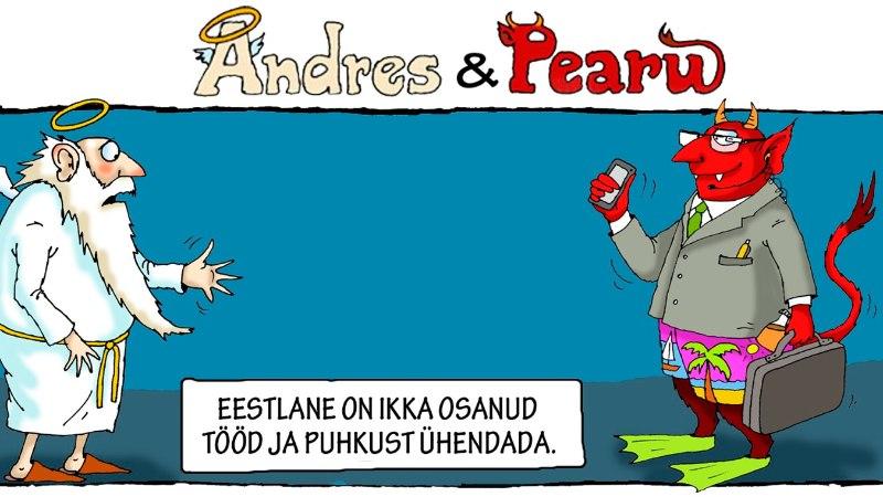 Andres ja Pearu: eestlased on üks nutikas rahvas
