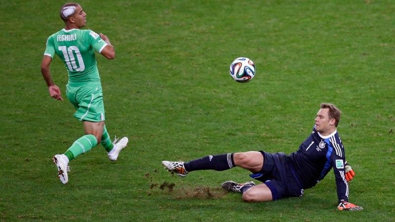 JALGPALLISTUUDIO: Väravavaht Neuer tegi kaitsjana fenomenaalse mängu