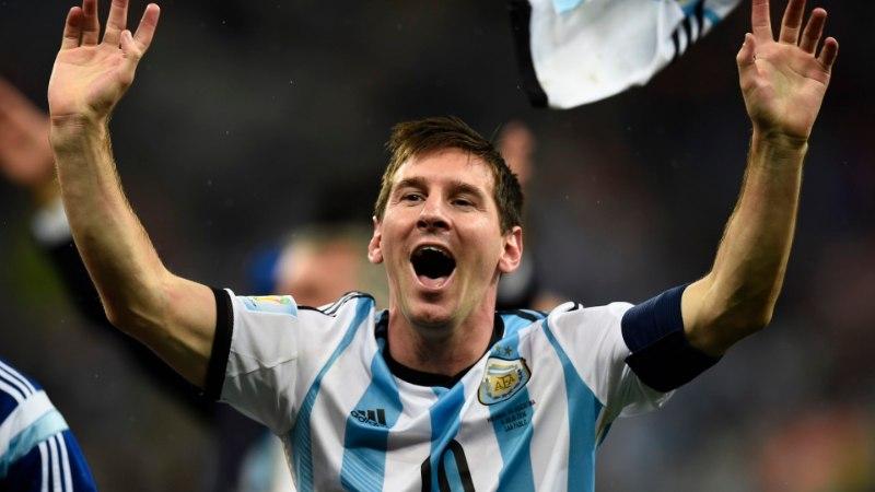 Tõeliselt hämmastav fakt Messi mängust poolfinaalis