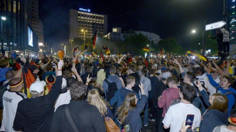 GALERII: Kuidas Berliinis MM-tiitli võitu tähistati