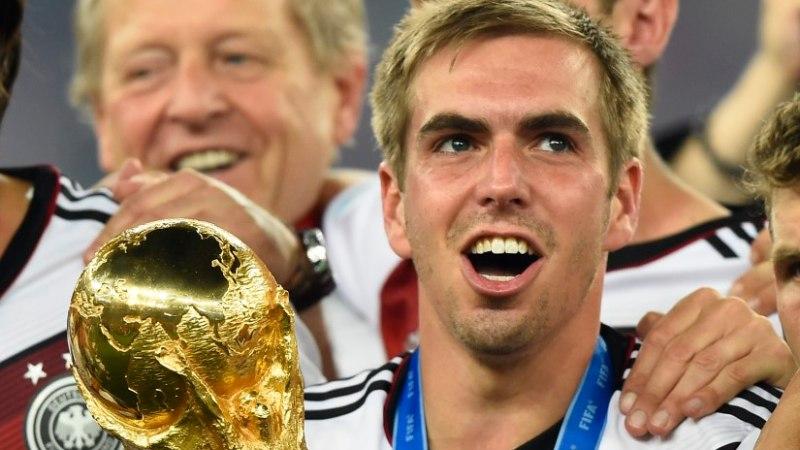 Saksamaa kapten Lahm: meeskonnana olime MMil parimad