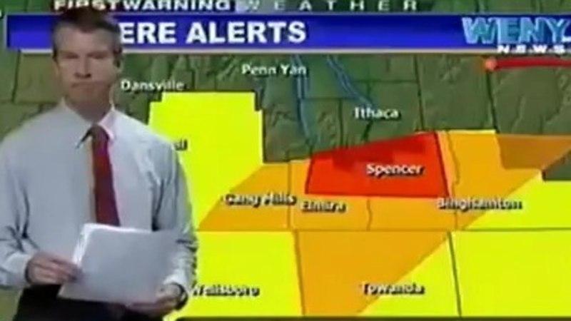VIDEO: uskumatu ämber! USA telekanal hakkas lisaaja lõpus ilmateadet näitama