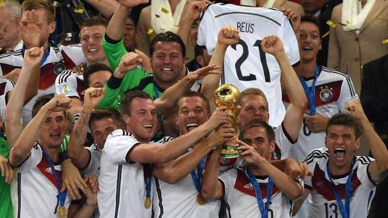 GALERII: Saksamaa tähistab neljandat jalgpalli MM-tiitlit!