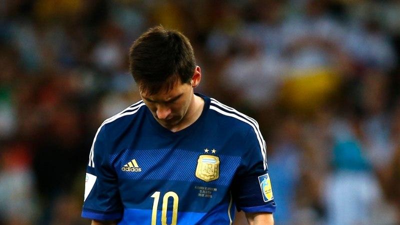 Lionel Messi: võit jäi ründajate taha, me ei suutnud momente väravaks lüüa