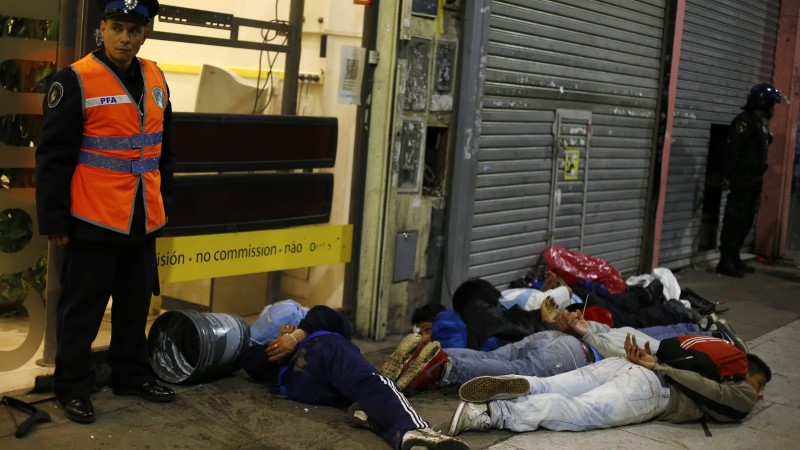 GALERII: Rahutused Buenos Aireses