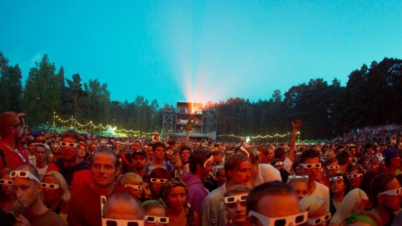 GALERII: Kraftwerki vägev etteaste Positivusel!