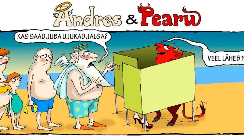 Andres ja Pearu: mis toimub rannas tegelikult?