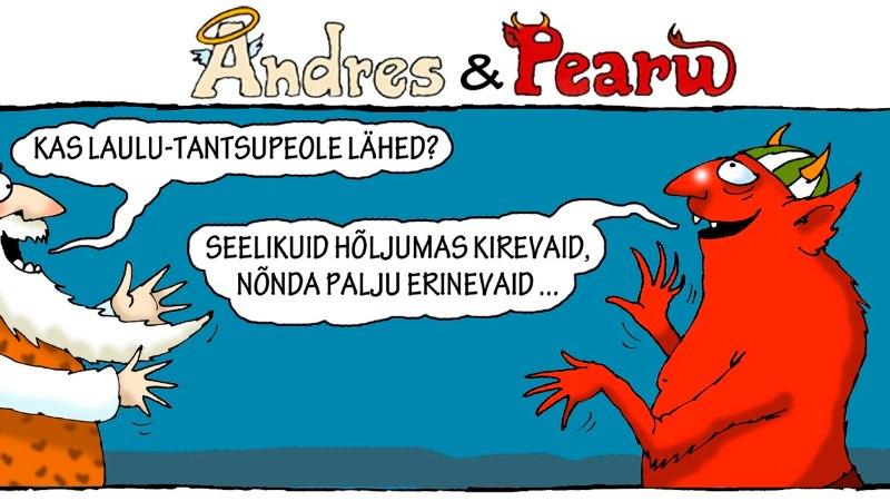 Andres ja Pearu: miks minna laulupeole?