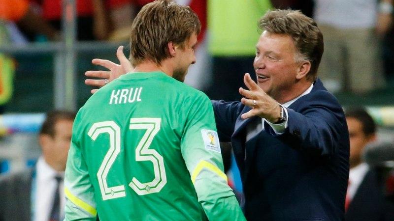 JALGPALLISTUUDIO: Kas van Gaal ja Krul muutsid jalgpalli igaveseks?