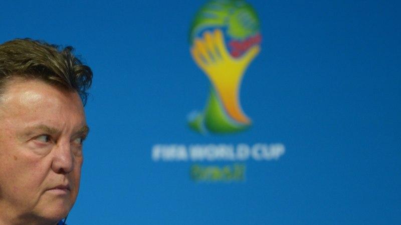 Van Gaal: laske lapsukestel jalgpalli vaadata!