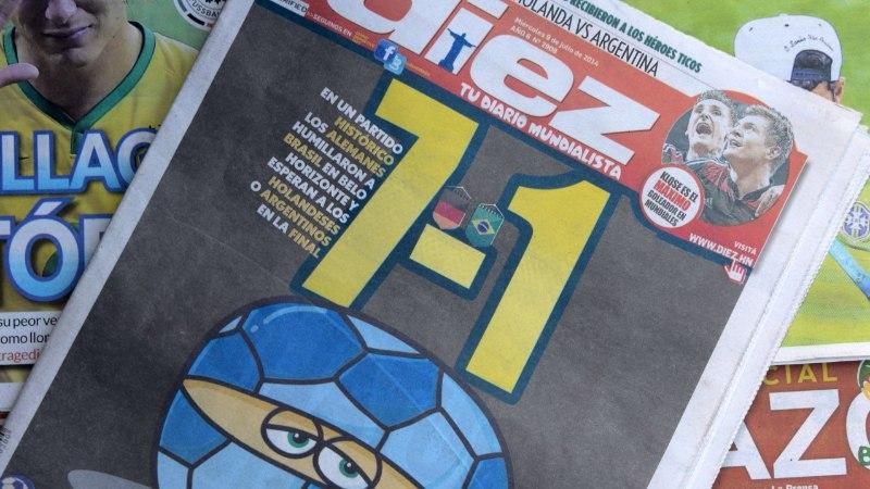 Isegi pornosait viskas Brasiilia võika kaotuse üle nalja
