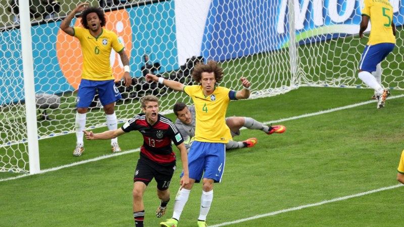 Uskumatu, täiesti uskumatu! Saksamaa alistas MMi poolfinaalis Brasiilia 7:1!
