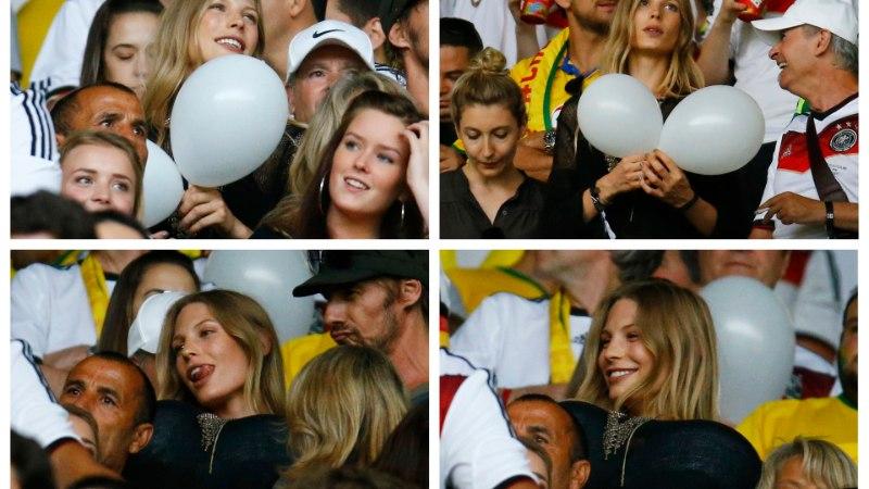 FOTOSEERIA! Saksamaa vutimehe kallim tegi õhupallidega tissinalja!