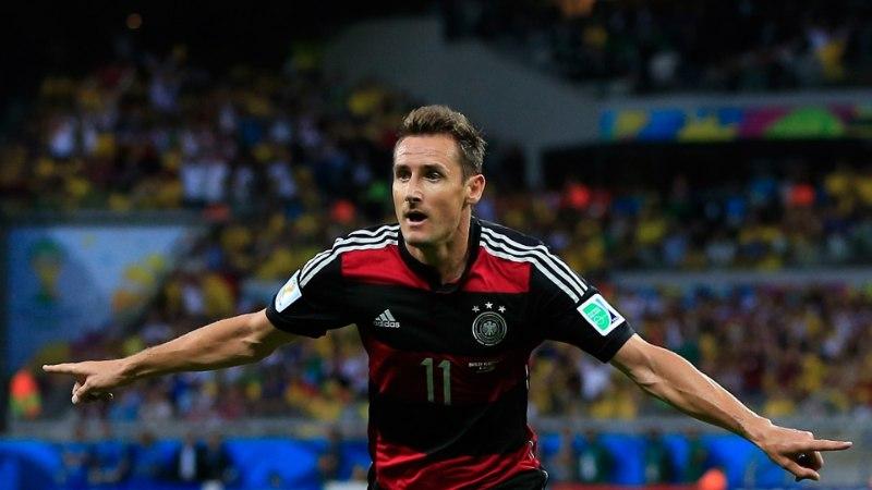 TOP5: Vaata, kes järgnevad edetabelis MMide edukaimale väravakütile Miroslav Klosele