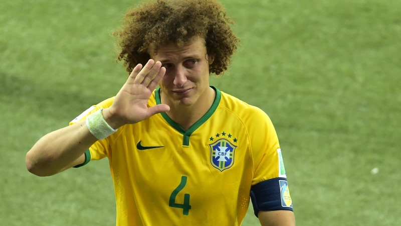Brasiilia kapten David Luiz: palun andestust