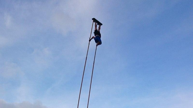 Sõudeäss Taimsoo purustas kiikingu Guinnessi rekordi!