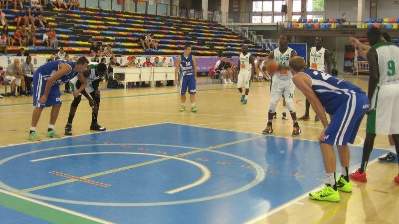 Eesti korvpallikoondis kaotas Senegalile 70:74