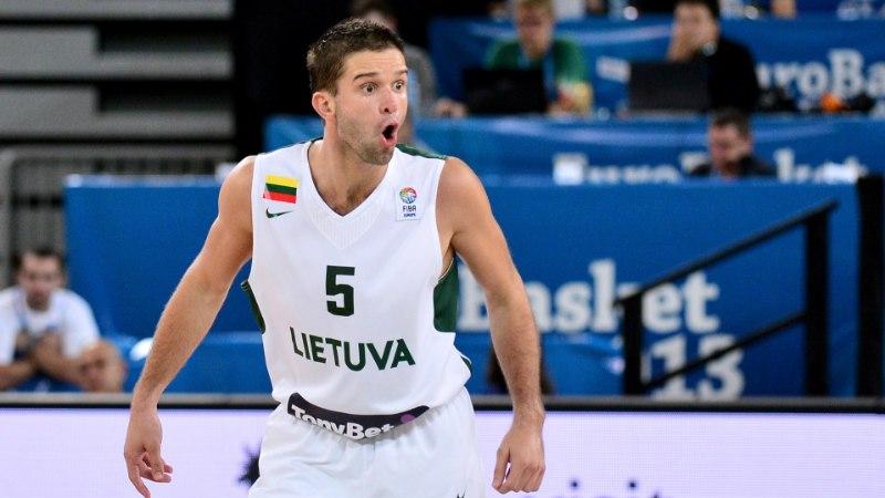 Leedu korvpallikoondis kaotas MMi eel põhimängujuhi