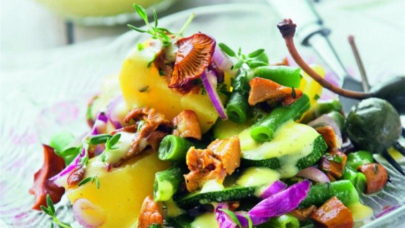 Soe kartuli-kukeseenesalat kapparitega