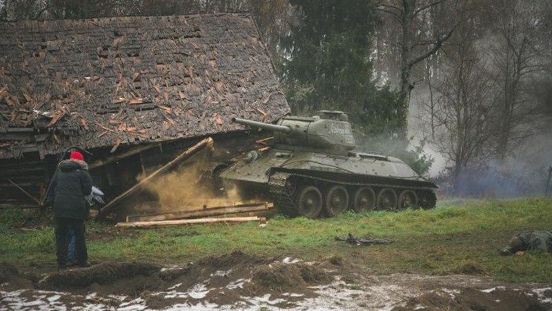 Eesti suurim sõjafilm sünnib entusiasmi, kolme tanki ja kahe lennuki toel