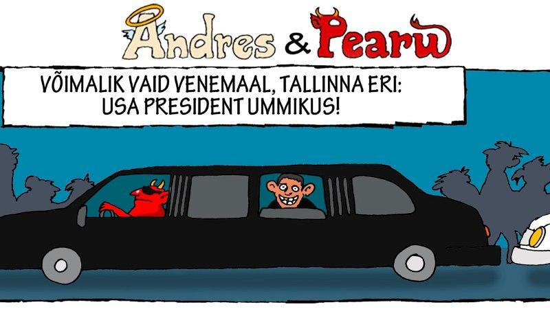 Andres ja Pearu: Obama istub ummikus!