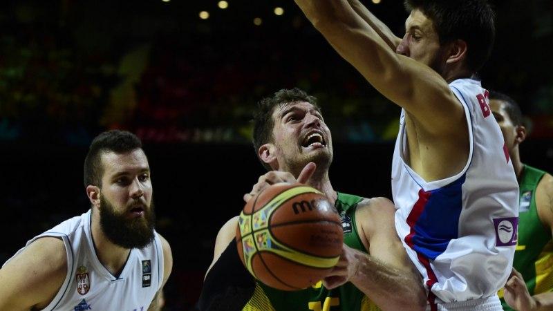 FOTOD: Serbia ei jätnud Brasiiliale võimaluseraasugi