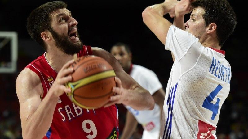 VIDEO: Serbia ja Prantsusmaa põneva poolfinaali tipphetked