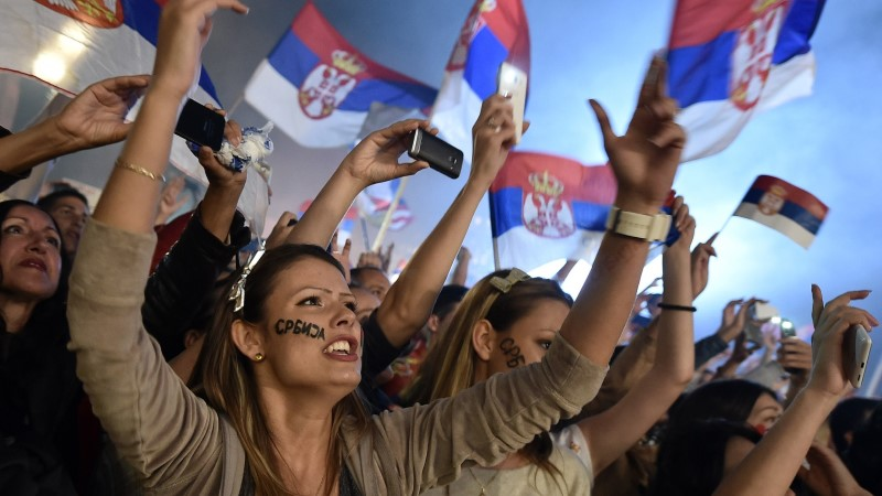 FOTOD JA VIDEO: kodumaale naasnud Serbia kossumeeskonda tervitati suure mölluga