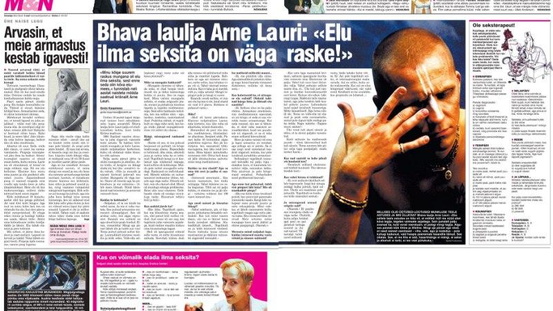 VANA HITT | Bhava laulja Arne Lauri: «Elu ilma seksita on väga raske!»