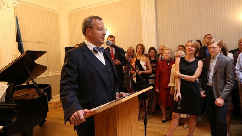 President Ilves andis New Yorgis vastuvõtu kohalikele eestlastele
