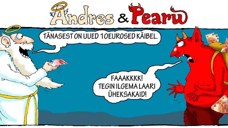 Andres ja Pearu: kas käibele tulid uued 9eurosed?