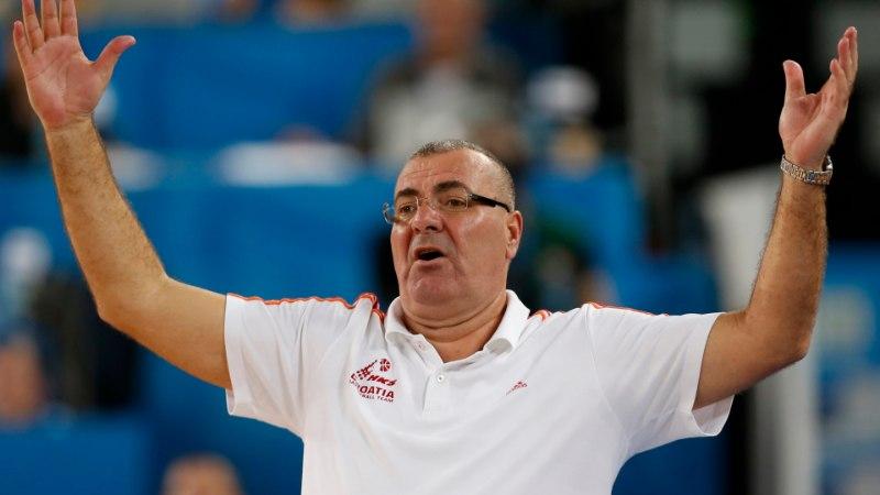Horvaatia mängijad hakkasid peatreeneri vastu mässama