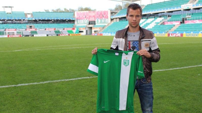 Sergei Mošnikov sõlmis lepingu FC Floraga