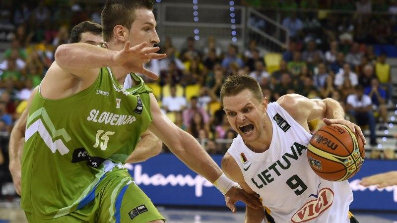 FOTOD: Leedu jättis Sloveenia viimasel veerandajal peaaegu kuivale ja võitis D-grupi!