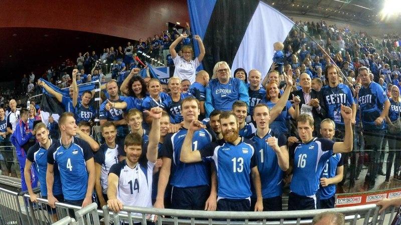 GALERII ja REPORTAAŽ | Eesti on Euroopa 12 parima võrkpalliriigi seas!