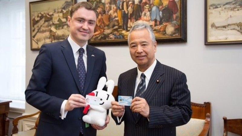Jaapan võtab Eesti eeskujul kasutusele ID-kaardi