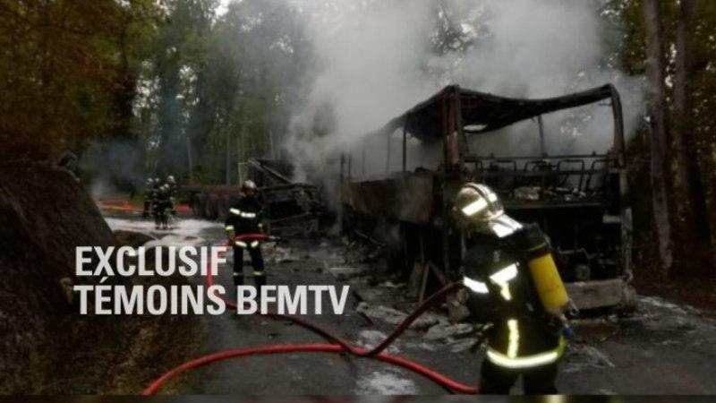 Bussireisijad põlesid elusalt surnuks