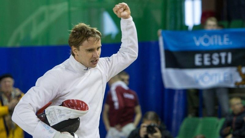 Olümpiavõitja alistanud Novosjolov pääses MK-etapil poodiumile