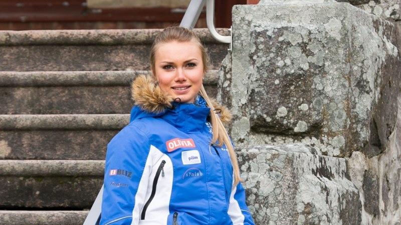 TUBLI TÜDRUK! Saskia Alusalu püstitas kaks Eesti rekordit