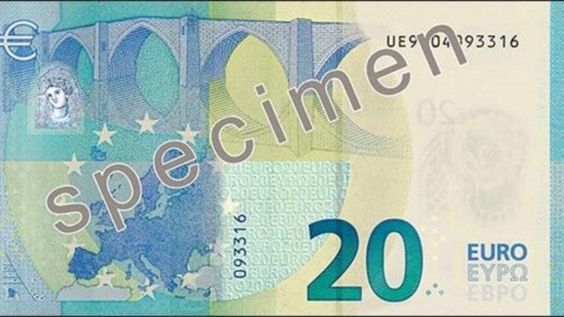 VAATA | Eestis on tänasest ringluses uued 20-eurosed rahatähed