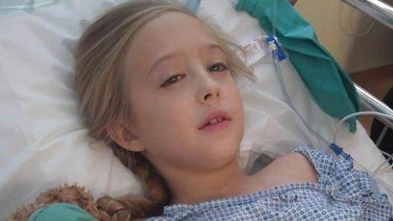Appi! Kaheksa-aastasel tüdrukul avastati rinnavähk