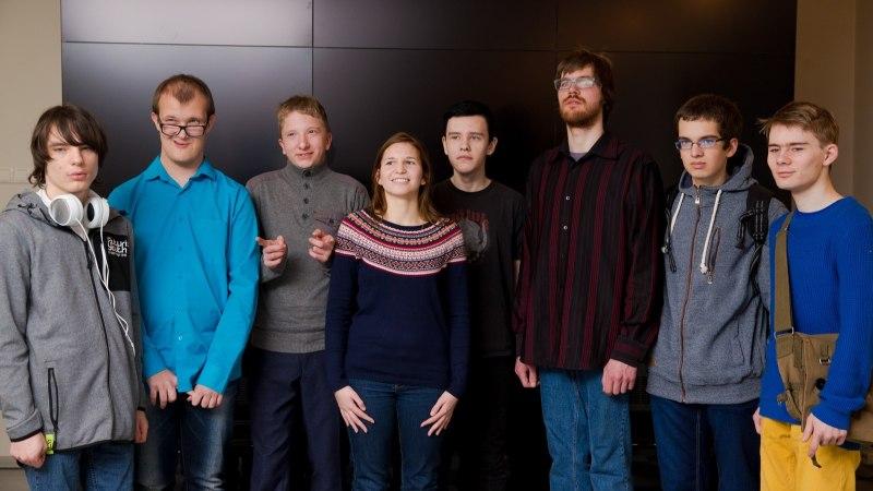 ÕHTULEHE VIDEO | Eesti oma Pertti Kurikan Nimipäivat: erivajadustega noored täidavad punkbändiga oma unistust