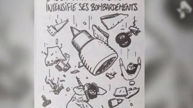 Журнал Charlie Hebdo посмеялся над катастрофой А321