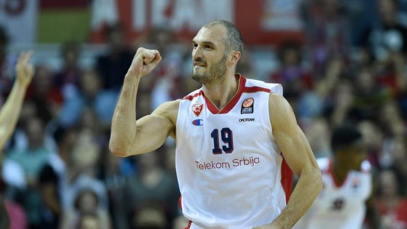 EUROLIIGA | Crvena Zvezda alistas Bayerni, Žalgirise ja Vene vastased paigas