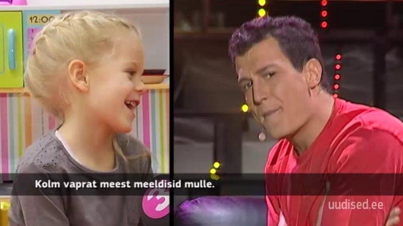 TV3 VIDEO | Näosaate finalisti Juss Haasma suurim fänn on viieaastane tütar Miia