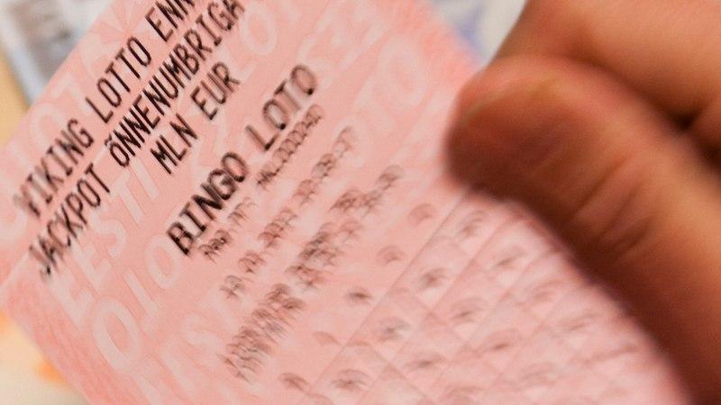 MADALSEISUST VÄLJA: hiigelsumma võitnud mees ostis lotopileti sõbra soovitusel